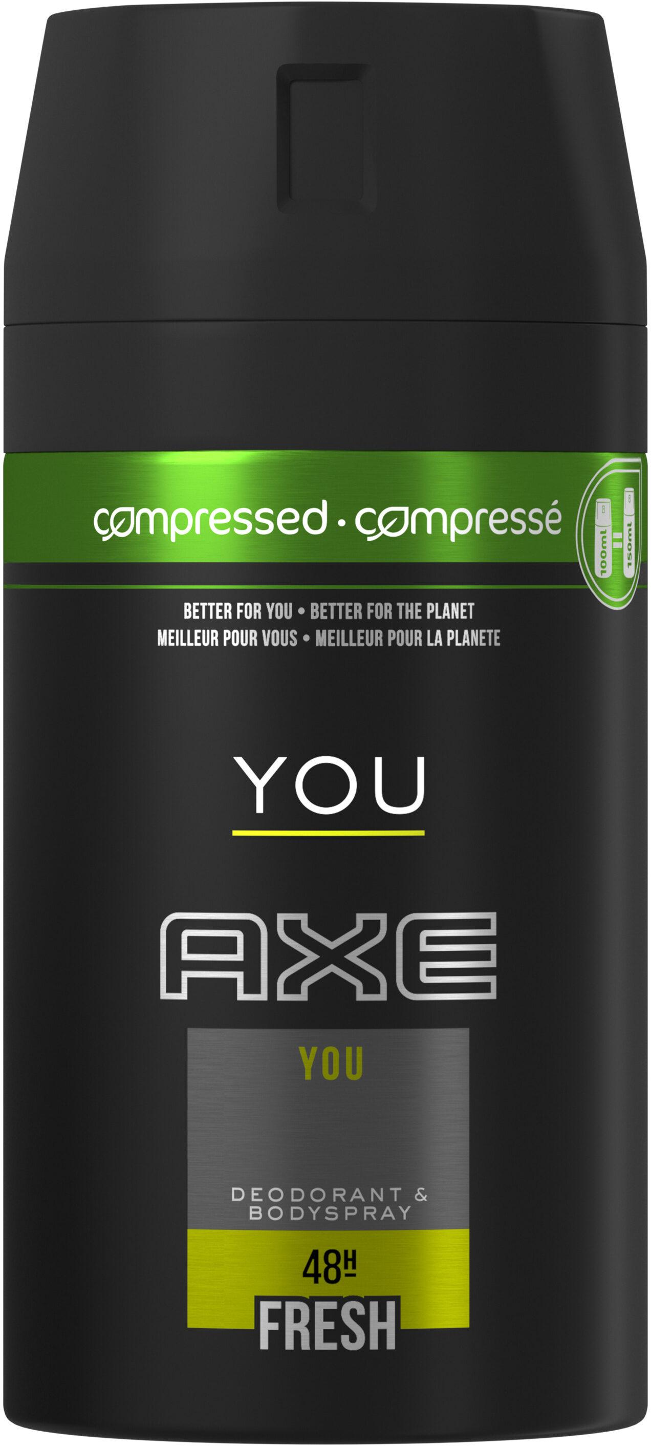 AXE Déodorant Anti Bactérien You Spray - Product - fr