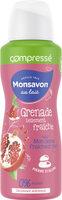 Monsavon Déodorant Femme Spray Antibactérien Pierre d'Alun Lait Grenade & Hibiscus - Produit - fr