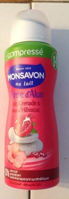 Compressé Pierre d'alun lait, grenade et fleur d'hibiscus - Produit